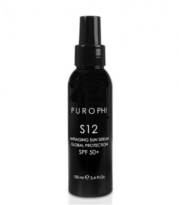 S12 Antiaging Sun Serum Global Protection SPF 50+ Purophi