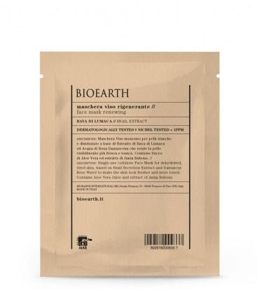Maschera Viso Rigenerante - Bava di Lumaca - Bioearth