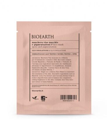 Maschera Viso Macchie e Pigmentazioni - Gluconolattone - Bioearth