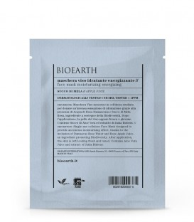 Maschera Viso Idratante Energizzante - Succo di Mela