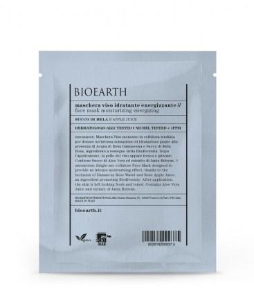 Maschera Viso Idratante Energizzante - Succo di Mela - Bioearth