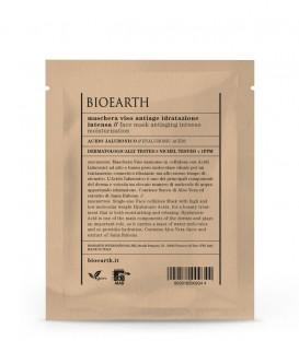 Maschera Viso Antiage Idratazione Intensa - Acido Ialuronico - Bioearth