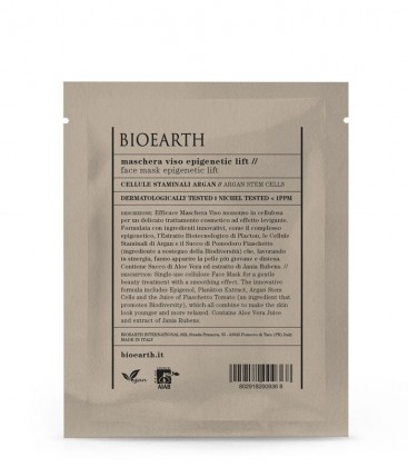 Maschera Viso Epigenetic Lift - Cellule Staminali di Argan - Bioearth