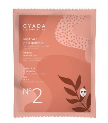 Maschera Lenitiva Pelli Delicate N. 2 - Gyada Cosmetics