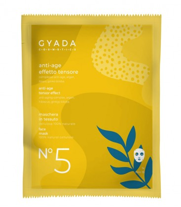 Maschera Anti-Age Effetto Tensore N. 5 - Gyada Cosmetics