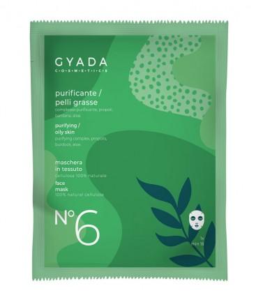 Maschera Purificante Pelli grasse N. 6 - Gyada Cosmetics