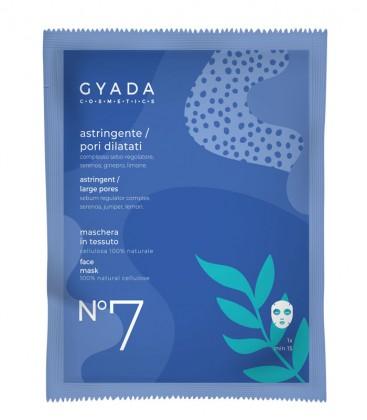 Maschera Astringente Pori Dilatati N. 7 - Gyada Cosmetics