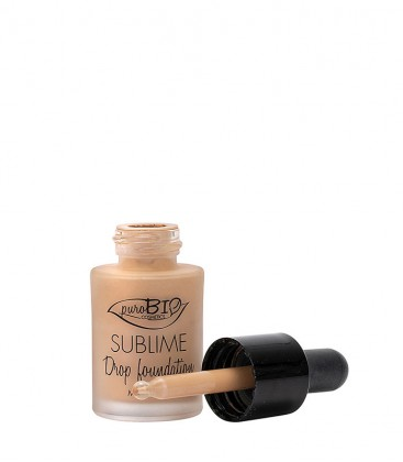 Sublime Drop Foundation 03 - PuroBio Cosmetics