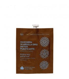 Maschera in Argilla Oro Detox-Purificante