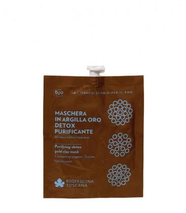Maschera in Argilla Oro Detox-Purificante - Biofficina Toscana