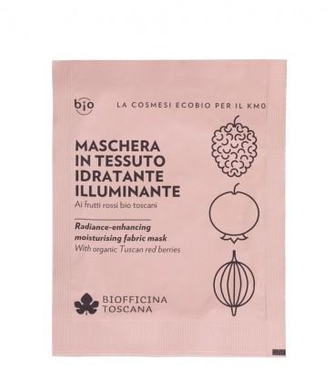 Maschera in Tessuto Idratante-Illuminante - Biofficina Toscana