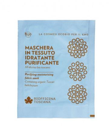 Maschera in Tessuto Idratante-Purificante - Biofficina Toscana