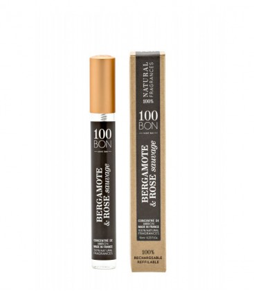 Bergamote & Rose Sauvage 10 ml - 100BON