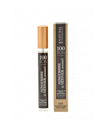 Gingembre & Vétiver Sensuel 10 ml - 100BON