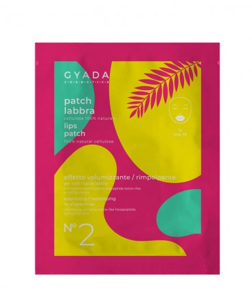 Patch Labbra N. 2 – Volumizzante / Rimpolpante - Gyada Cosmetics