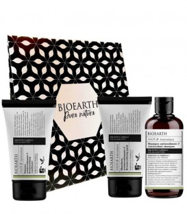Kit Capelli Antiossidante con Spirulina - Bioearth