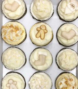Cupcake da Bagno - Set Natale - Badefee