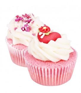 Cupcake da Bagno - Set Heart