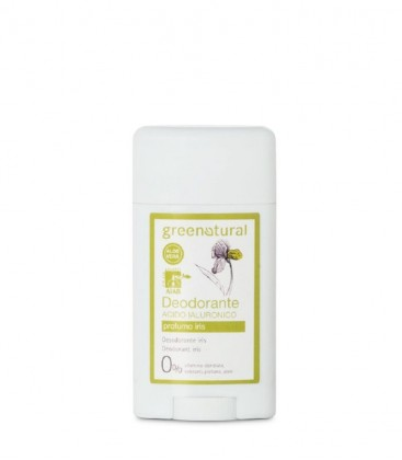 Deodorante Gel Acido Ialuronico Iris - GreeNatural