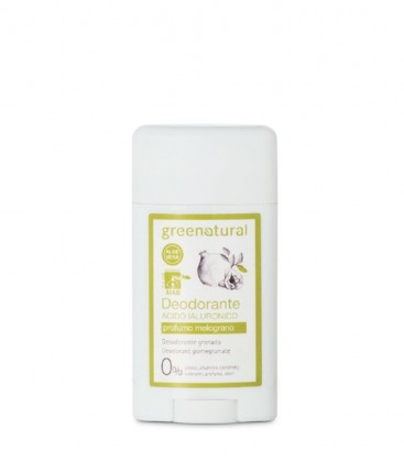 Deodorante Gel Acido Ialuronico Melograno - GreeNatural