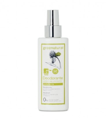 Deodorante Spray Acido Ialuronico Iris - GreeNatural