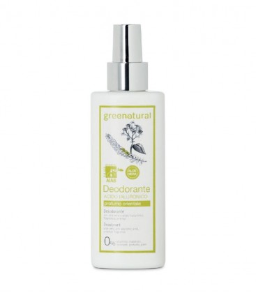 Deodorante Spray Acido Ialuronico Orientale - GreeNatural