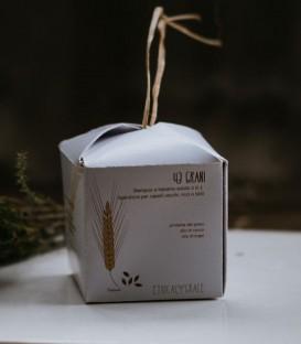 Shampoo e Balsamo Solido Riparatore 43 Grani