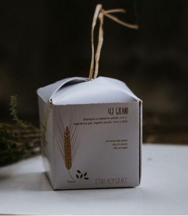 Shampoo e Balsamo Solido Riparatore 43 Grani - Ethical Grace