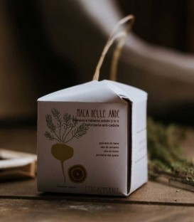Shampoo e Balsamo Solido Rinforzante Anti-Caduta Maca delle Ande