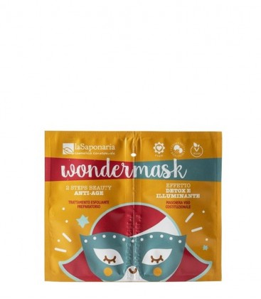 Wondermask - Maschera 2 Steps Beauty Anti Age - La Saponaria