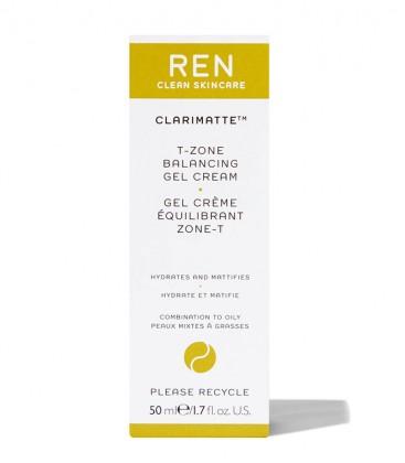 Clarimatte T-Zone Balancing Gel Cream REN