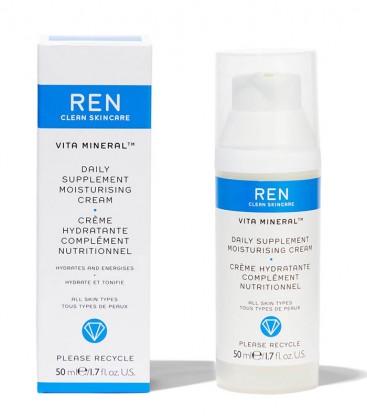 Vita Mineral Daily Supplement Moisturising Cream REN