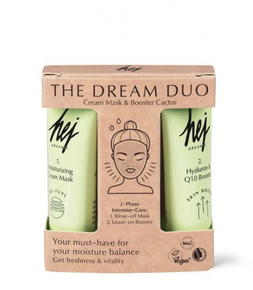 The Dream Duo - Cream Mask & Booster Cactus Hej Organic