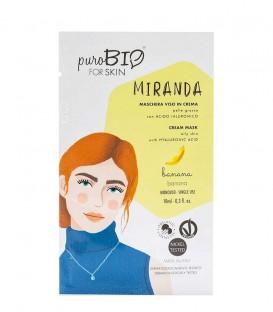 Maschera Viso in Crema Pelle Grassa - Miranda - Banana PuroBio for Skin