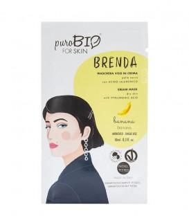 Maschera Viso in Crema Pelle secca - Brenda - Banana - PuroBio for Skin