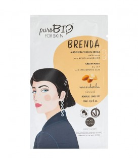 Maschera Viso in Crema Pelle secca - Brenda - Mandorla