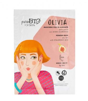 Maschera Viso Bio Peel Off Pelle Grassa - Olivia - Fico PuroBio For Skin