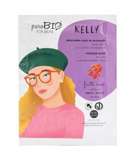 Maschera Viso Bio Peel Off Pelle Secca - Kelly - Frutti Rossi