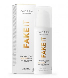 Fake It Natural Look Self Tan Milk Madara Cosmetics