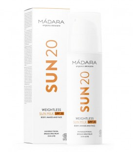 Sun20 Weightless Sun Milk SPF 20 Madara Cosmetics