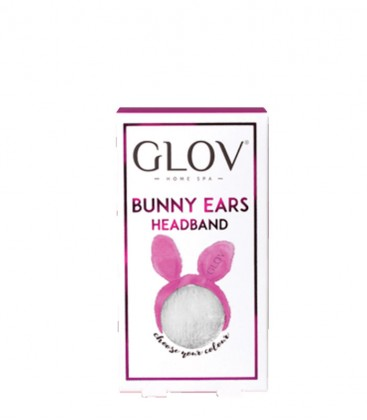 Glov Bunny Ears Headband Grey