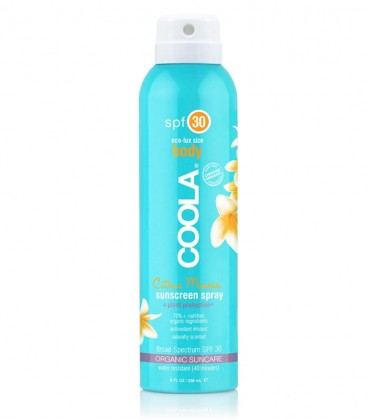 Classic Body Organic Sunscreen Spray SPF 30 Citrus Mimosa - Coola
