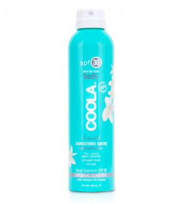 Classic Body Organic Sunscreen Spray SPF 30 Fragrance Free Coola