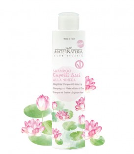 Shampoo Capelli Lisci alla Ninfea Maternatura