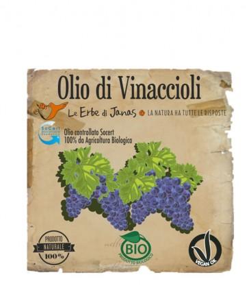 Olio di Vinaccioli - Le Erbe di Janas
