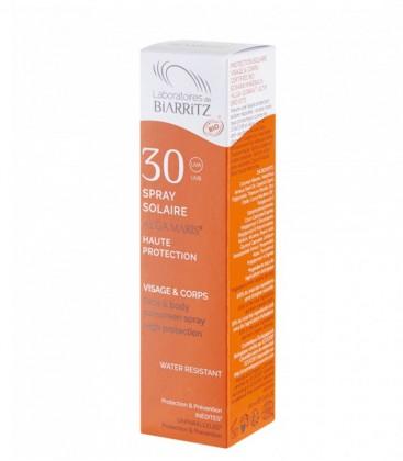 Spray Solare Bio SPF 30 - Alga Maris - Laboratoires de Biarritz