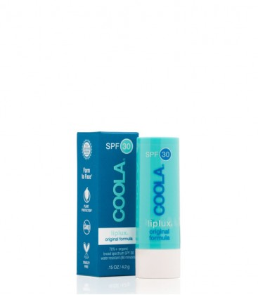 Classic Liplux Organic Lip Balm Sunscreen SPF 30 Vanilla Peppermint - Coola