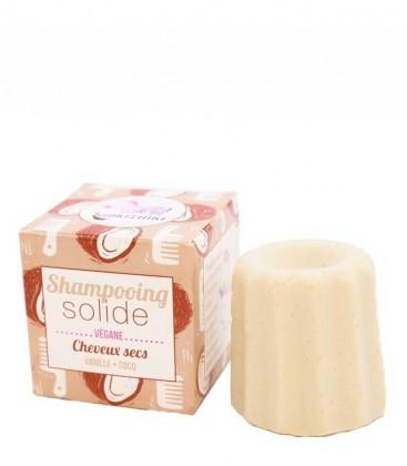 Shampoo Solido Vaniglia e Cocco - Capelli Secchi - Lamazuna