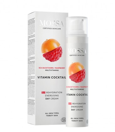 Crema Energizzante - Idratazione Intensa - Mossa Cosmetics