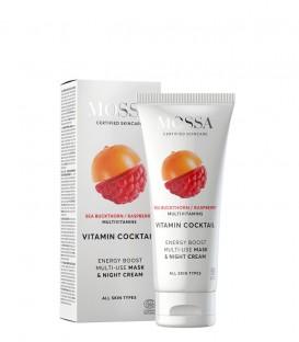 Maschera Viso e Crema Notte Multiuso Energy Boost - Mossa Cosmetics